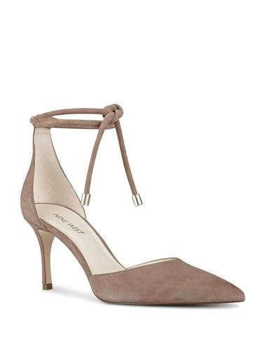 %100 Süet Klasik Ayakkabı-Nine West
